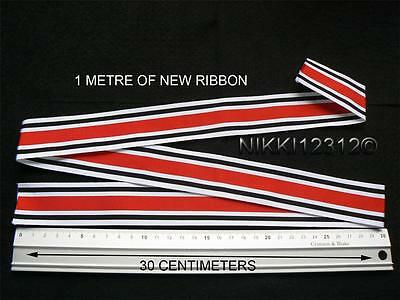 Full Size 1 Metre Of Special Constabulary Long Service Good Conduct Medal Ribbon