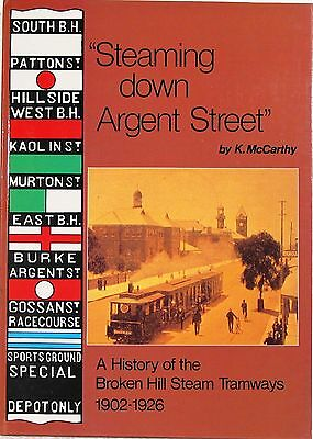 Steaming down Argent Street by K McCarthy MM 267
