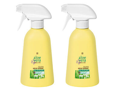 LR Aloe Vera Animal Care Quick Help Spray 2x 400ml Doppelpack