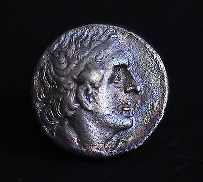 Aphrodite- Ancient Egyptian Silver Tetradrachm Of Ptolemy Ii Philadelphus