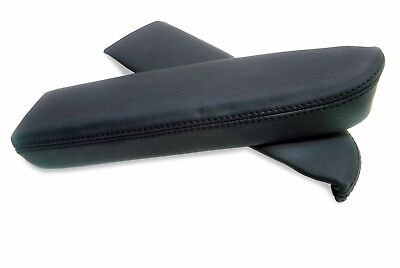 Door Panel Armrest Leather Synthetic Cover for Acura RDX 07-12 Black