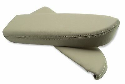 Door Panel Armrest Leather Synthetic Cover for Acura RDX 07-12 Beige