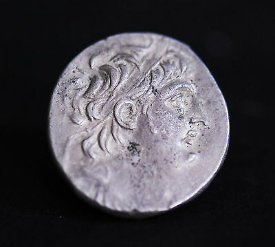 Aphrodite- Ancient Silver Tetradrachm Of Antiochus Vii
