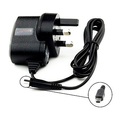 UK Mains Home Travel AC Charger For Garmin Aera 500 510 550 560 Aviation GPS