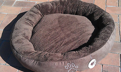 Jaxtal Large and round soft pet/dog/cat Bed Mat Cushion Size D65cm