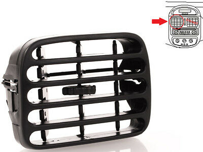 THALIA CLIO II RIGHT FRONT AIR HEATER VENTILATION DASHBOARD GRILLE GREY