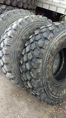 14.00R20 XZL Michelin Military Mud Tire.