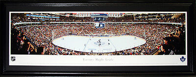 Toronto Maple Leafs Air Canada Centre Panorama NHL Hockey Collector Frame