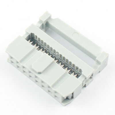 10Pcs 2.54mm Pitch  2x8 Pin 16 Pin IDC FC Female Header Socket Connector