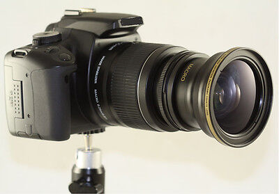 Super Fisheye Wide angle 0.30X lens With adapter ring For Nikon P7700 P-7700