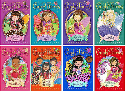 Candy Fairies Collection Set 1-8 Childrens Books Girls Fantasy Fiction Series!!!