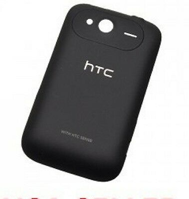 NEW BATTERY DOOR BACK COVER OEM HTC WILDFIRE S A510e G13 6230 BLACK