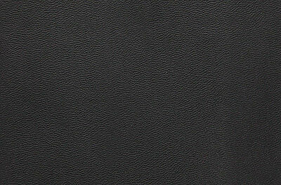 Leather, Morocco Grain Black 4 Sq Feet