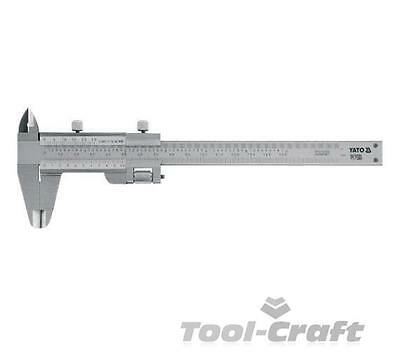 Yato professional vernier caliper stainless steel scale mm/inch (YT-7200)