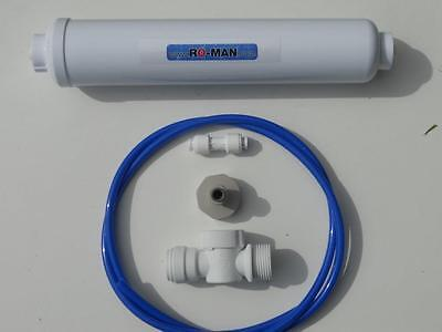 American Fridge Water Filter Connection Kit: PF Washing Machine Valve &  Filter