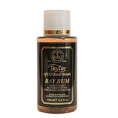 Taylor Of Old Bond Street Bay Rum Aftershave Lotion 150ml Post Shave After Shave