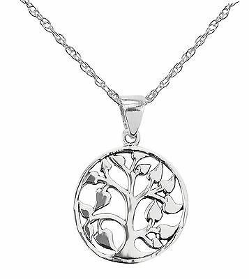Celtic Stirling Silver Tree Of Life pendant 9031