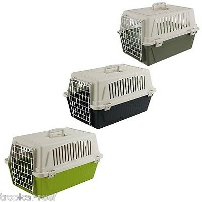 Ferplast Atlas 10 Cat Kitten Puppy Pet Safe Travel Carrier Crate Cage Carry
