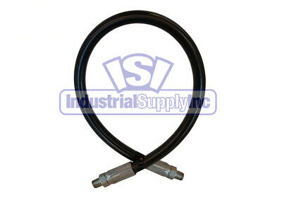 "1/2"" x 24"" 2-Wire Hydraulic Hose Assembly w/Male NPT"
