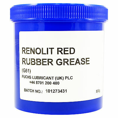 Fuchs Renolit Red Rubber Grease G51 500g Pot