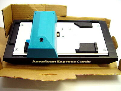 Addressograph Bartizan 2010 4850 Flatbed Credit Card Imprinter 201101-080