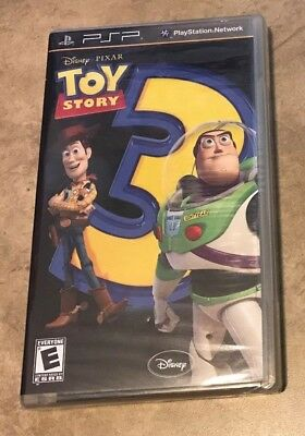 Toy Story 3 The Video Game NEW factory sealed black label Sony PSP Portable