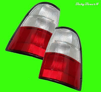 Rear Tail Lights Lamps Pair Right Left Driver Passenger Side Holden Rodeo TF Ute