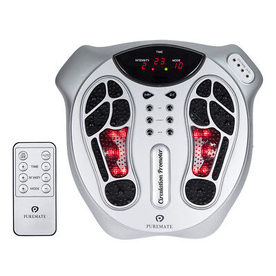 PureMate PM 605 Foot Circulation Massager with Infrared Light & Remote