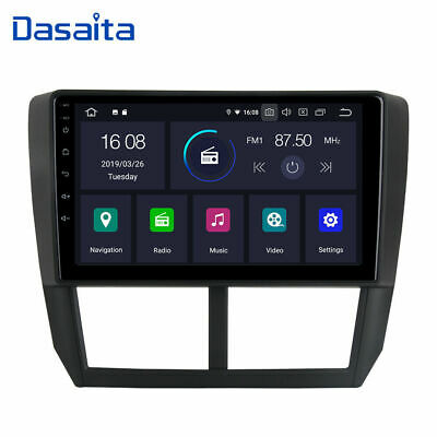 "9"" Android 9.0 Car Radio GPS Navigation Stereo for Subaru Forester Impreza"