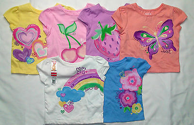 Garanimals infant girls short sleeve shirt various graphics and colors New