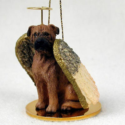 Bull Mastiff Dog Figurine Angel Statue