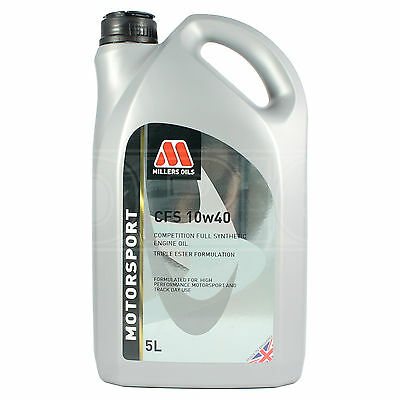 Millers CFS 10w-40 Competition Full Synthetic Car Engine Oil 10w40 5 LITRES 5L