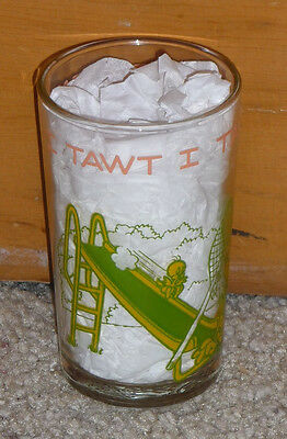 1974 VINTAGE - I TAWT I TAW A PUDDY TAT! - BUGS BUNNY - FACE IN BOTTOM