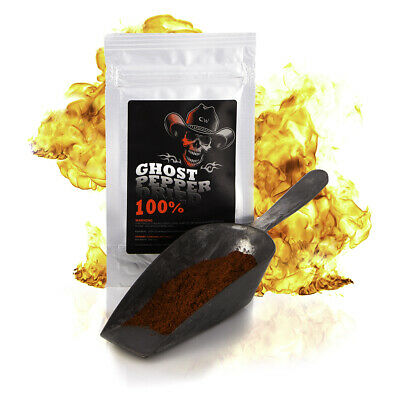 Naga Jolokia - Ghost Pepper Powder Chilli Powder Extreme Heat -Special Offer