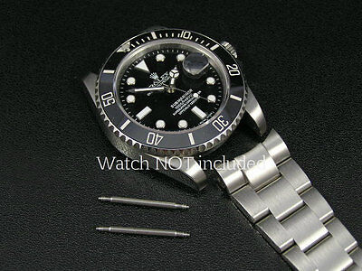 Superb Stainless Steel Spring Bars For Rolex Submariner & All Luxury Watches