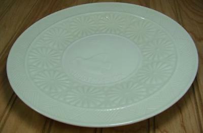 """Vintage Belleek 1976 Collectible Christmas 9"""" Plate Turtle Dove Excellent Cond"""