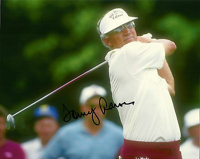 Tommy Aaron Hand Signed 8x10 Photo 1973 Masters Winner PGA