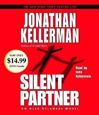 Silent Partner No. 4 by Jonathan Kellerman (2003, Audio, Other, Abridged)