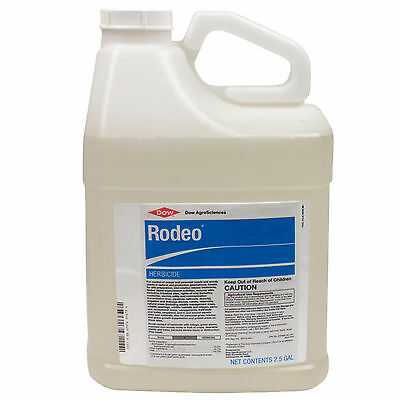 Rodeo Aquatic Herbicide 2.5 Gls Kills Aquatic Weeds Pond Weeds Glyphosate 53.8%