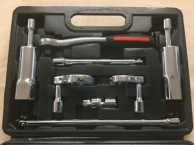 """Professional Basin Wrench 1/2"""" - 3/4"""" Tap Back Nut & 15-22M Tap Conn Spanners"""