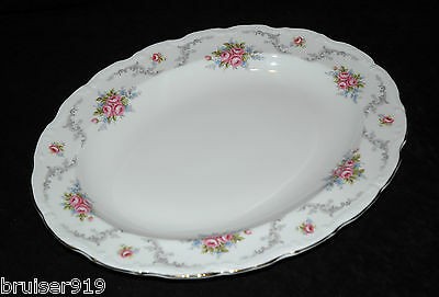TRANQUILLITY MEAT SERVING PLATTER Plate Tray Dish Royal Albert ENG Tranquility