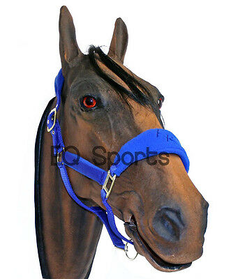 Fantastic Quality Knight Rider Fleece Padded Headcollar Halter 5 COLOURS+4 SIZES