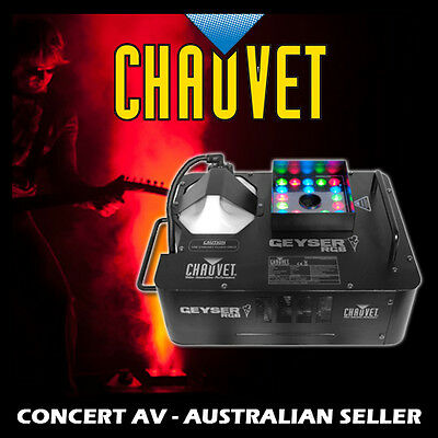 Chauvet Geyser RGB Vertical Fog Machine, Party, DJ Disco, Stage, Smoke, Coloured