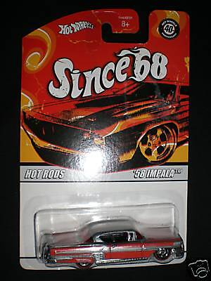 '58 IMPALA HOT WHEELS SINCE 68 HOT RODS #5 of 10 RETIRED SERIES 2007 SWEET!