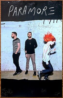 PARAMORE S/T Discontinued Ltd Ed New RARE Poster +FREE Punk/Alt/Rock Poster!