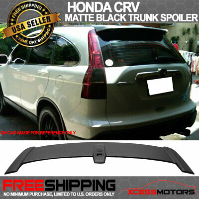 07-11 Honda CRV CR-V OE Factory Style Rear Liftgate Roof Trunk Wing ABS Spoiler