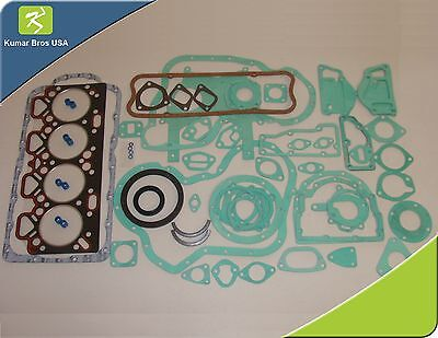 "New Perkins A4.236 ""MF 175 180 255 265 270 275,"" Complete Gasket WITH ALL Seals"