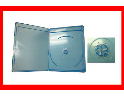 New 12 Pk VIVA ELITE 6mm Slim Blu-Ray Replace Case Single 1 Disc Holder Box