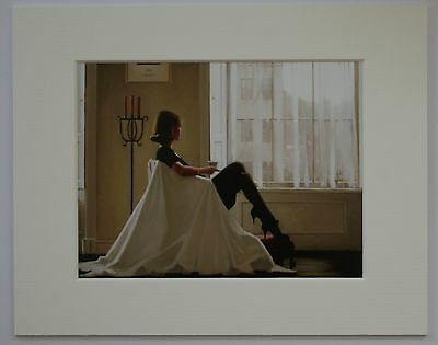 """In Thoughts Of You by Jack Vettriano Mounted Art Print 10"""" x 8"""""""