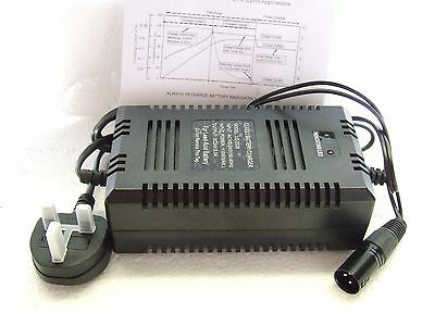 MOBILITY SCOOTER Battery Charger 24V 3amp - AUTOMATIC for 12ah to 36Ah Batteries